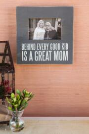 Great Mom Box Frame in Gray