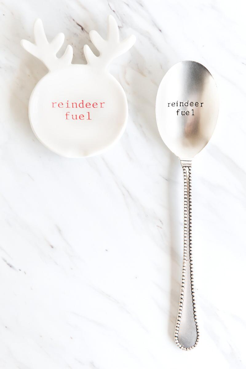 Reindeer Fuel Spoon Set-  gift-cl
