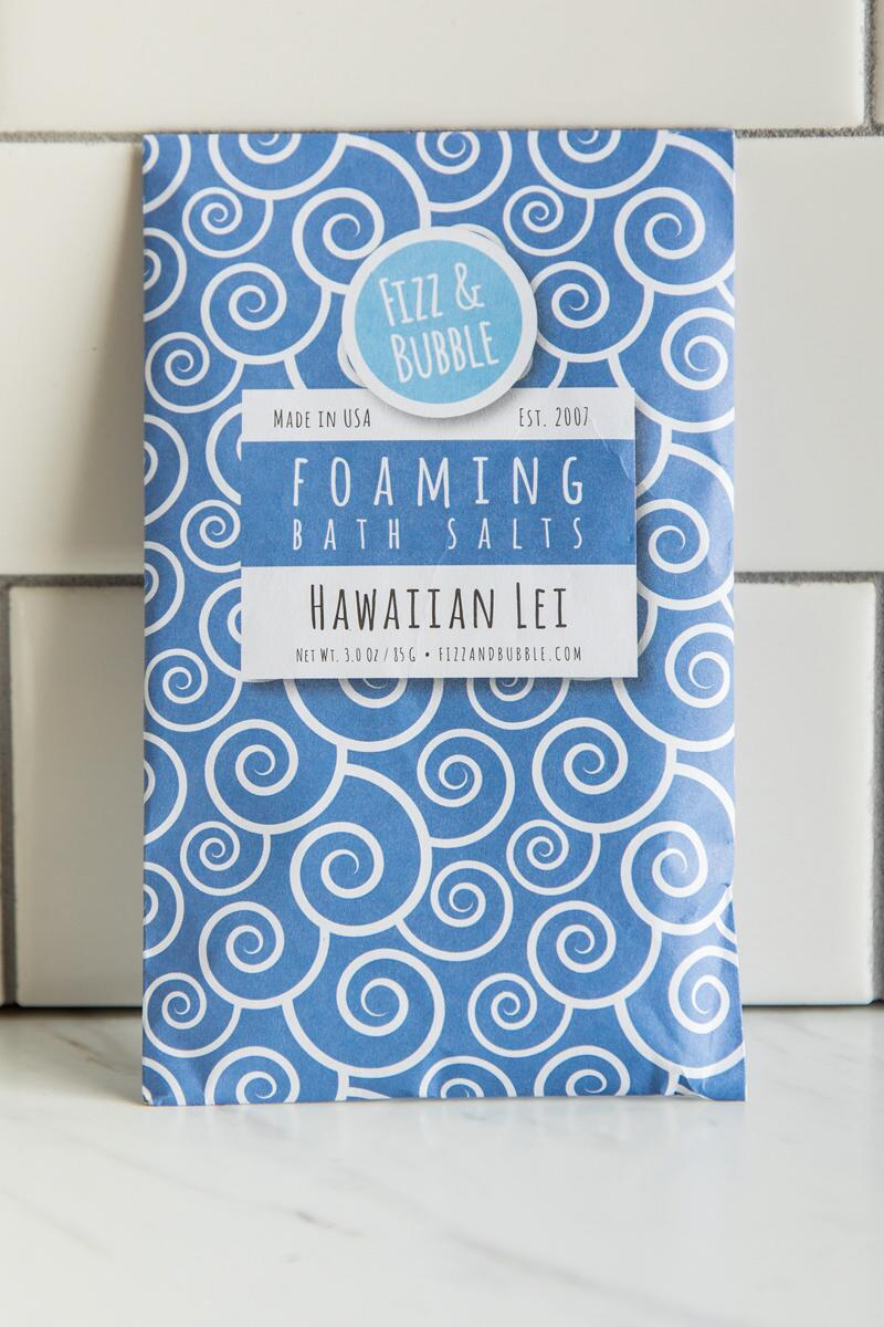 Foaming Bath Salts- Hawaiian Lei
