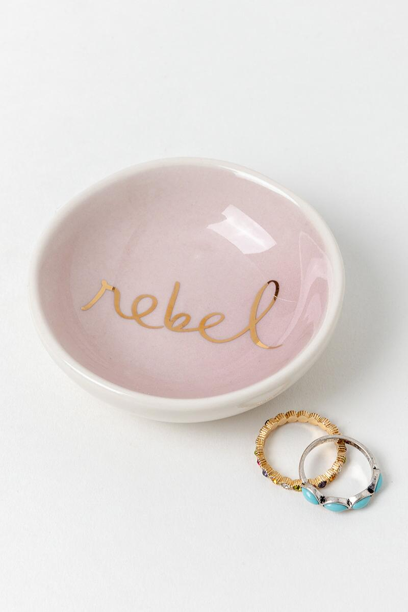 Rebel Round Trinket Dish