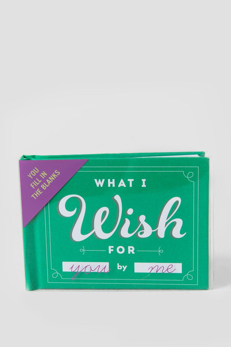 What I Wish Book