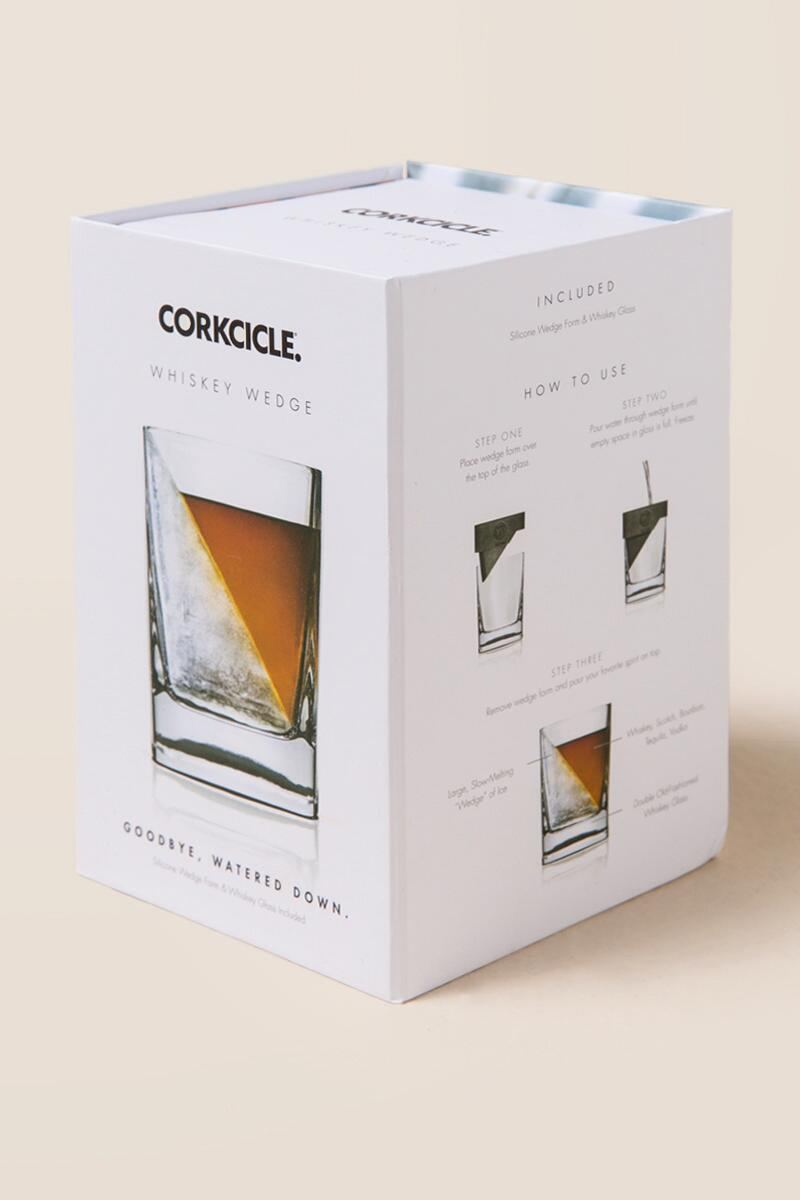 Whiskey Wedge Glass Set-  gift-cl