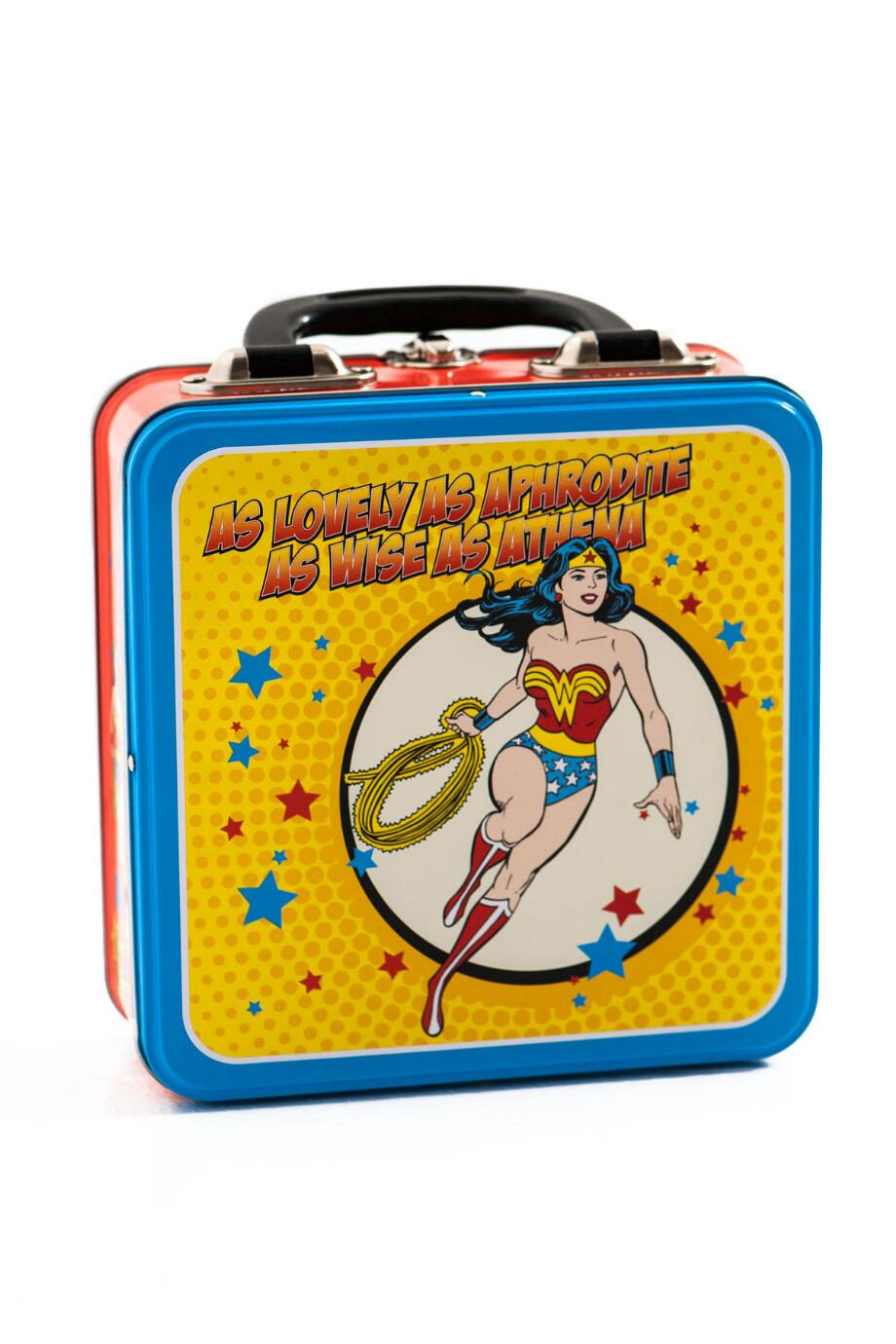 Wonder Woman Tin Lunch Tote