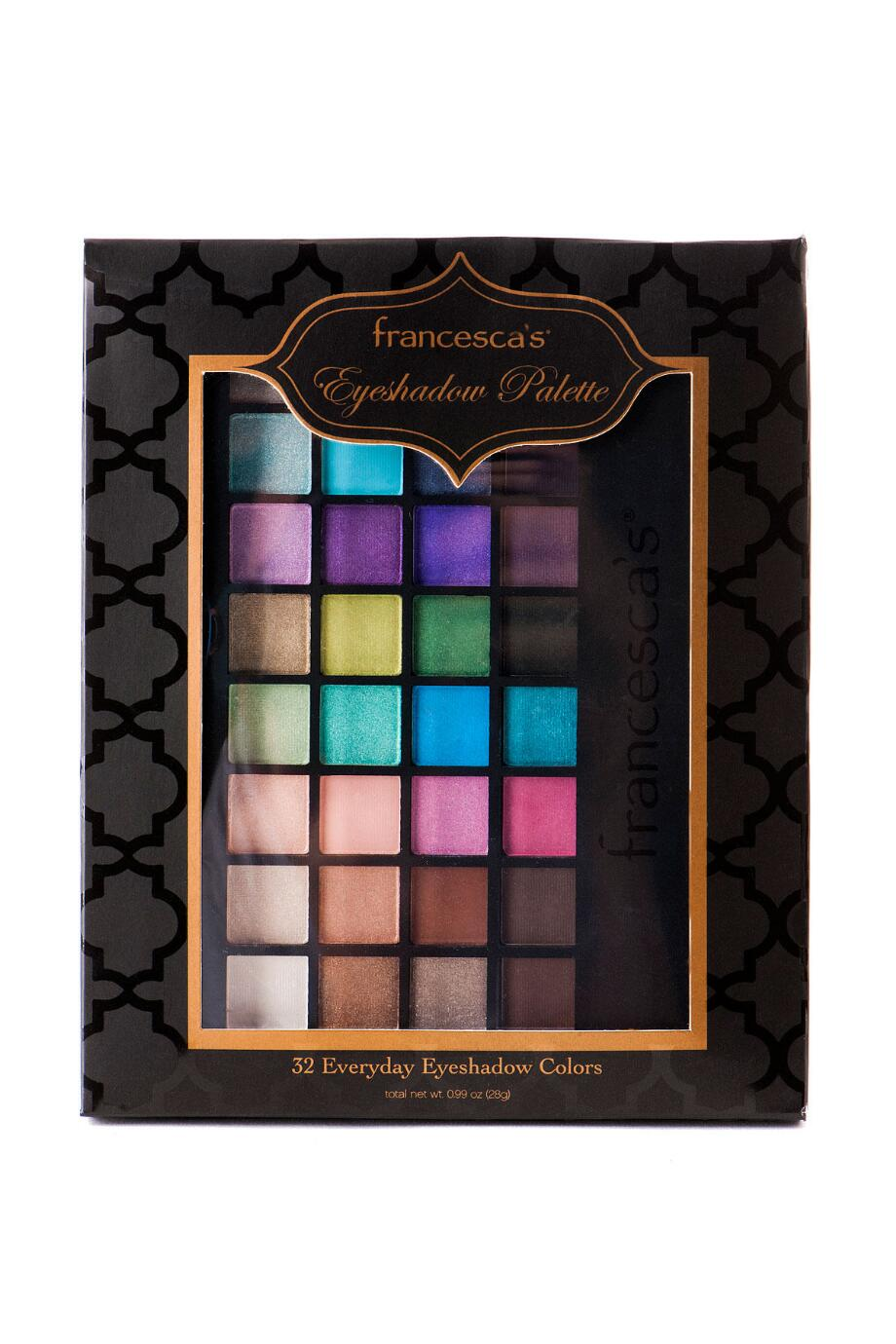 francesca's 32 Piece Occasion Eyeshadow Palette