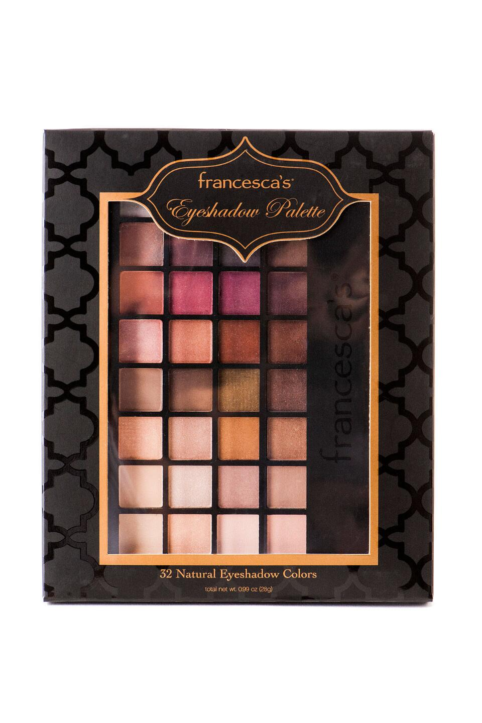 francesca's 32 Piece Everyday Eyeshadow Palette-  gift-cl