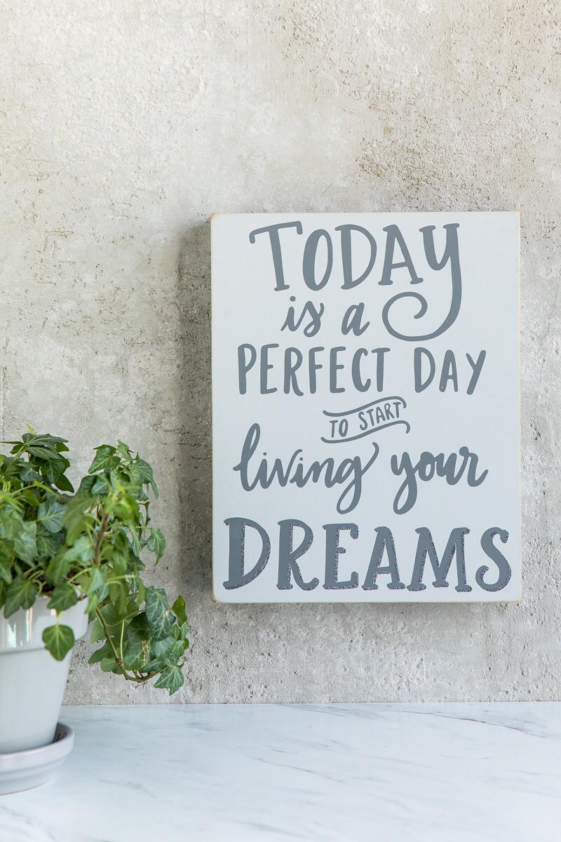 Living Your Dream Wall Decor