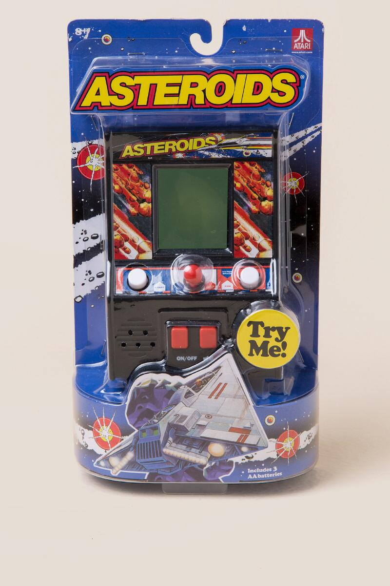 Handheld Asteroids Game-  gift-cl