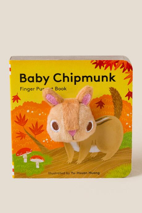 Chipmunk Finger Puppet Book