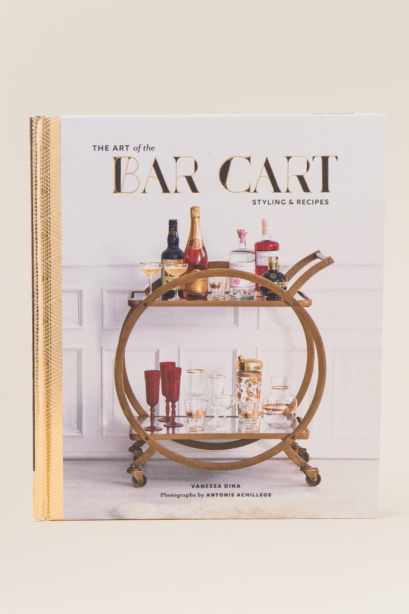 The Art of the Bar Cart: Styling and Recipes
