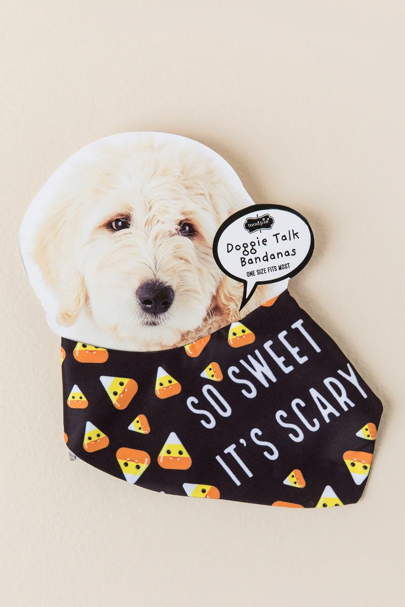 So Sweet Its Scary Dog Bandana
