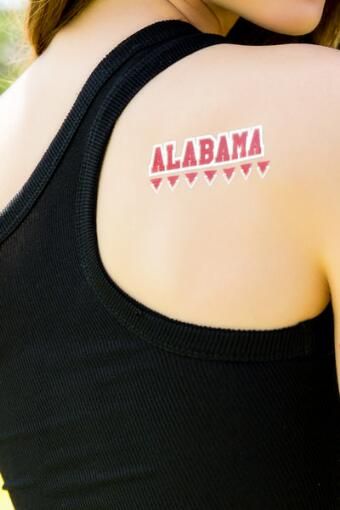 University of Alabama Spirit Tattoos