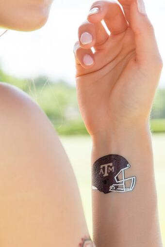 Texas A&M University Spirit Tattoos