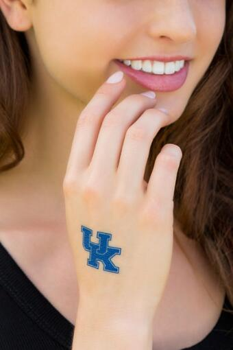 University of Kentucky Spirit Tattoos