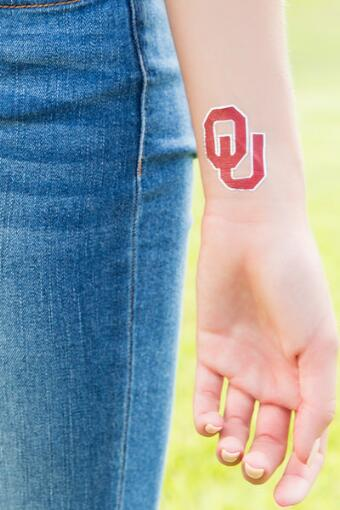 University of Oklahoma Spirit Tattoos
