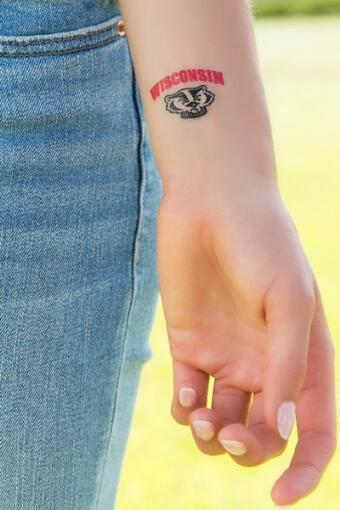 University of Wisconsin Spirit Tattoos