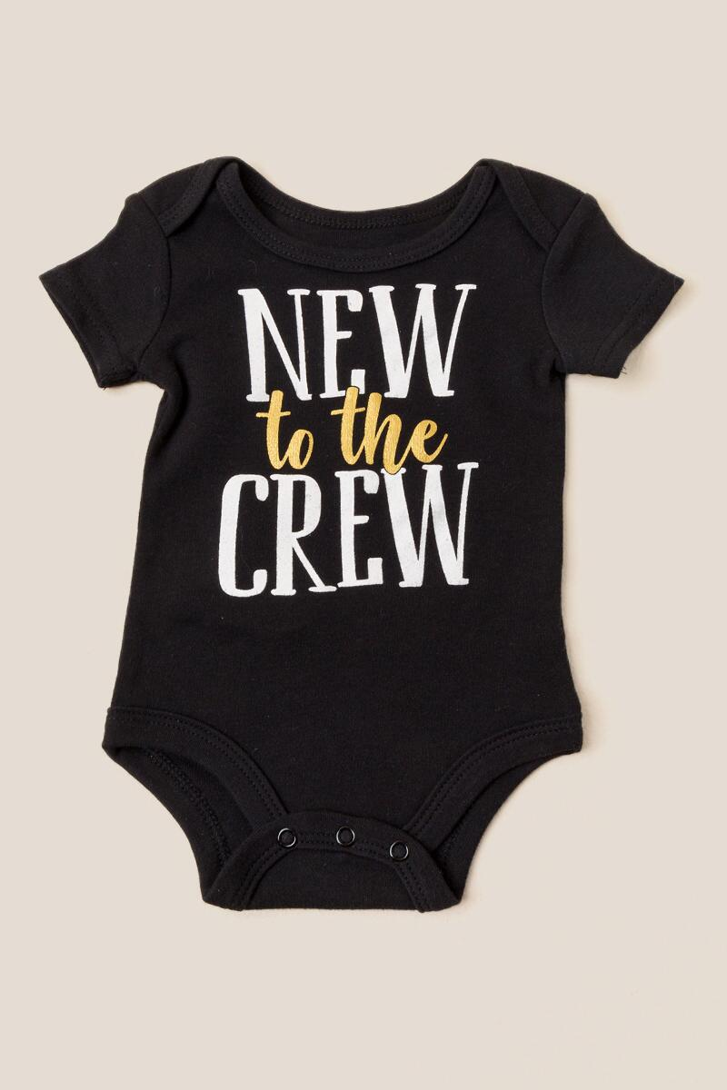 New To The Crew Bodysuit