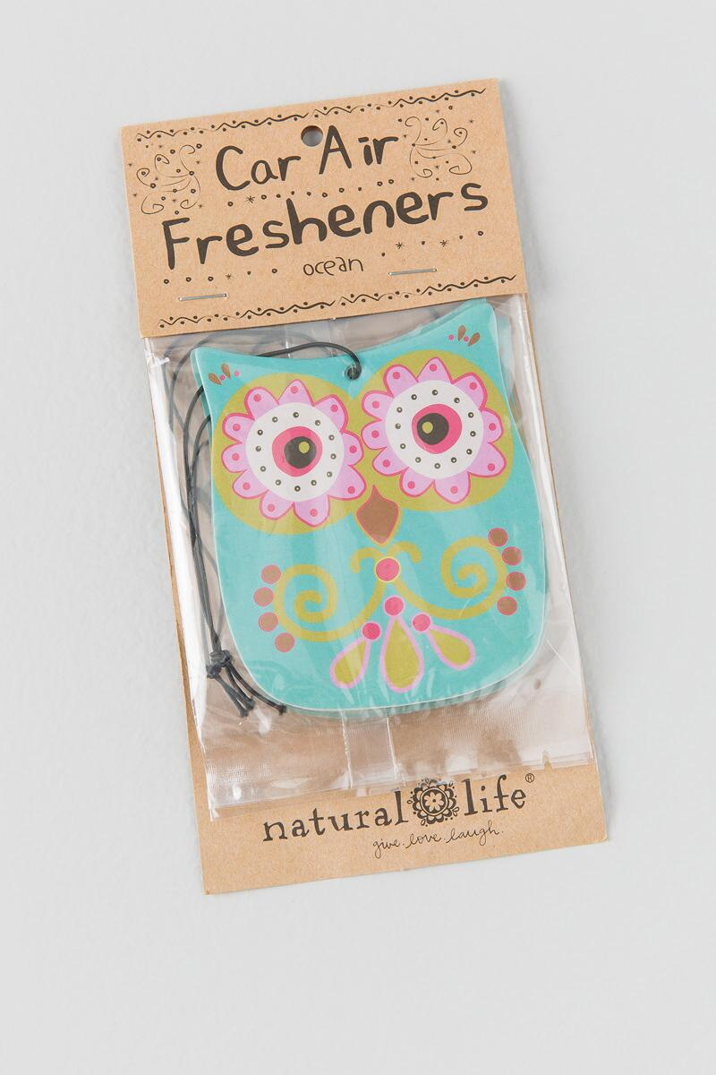 Teal Owl Air Fresheners-  gift-cl