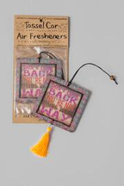 Don't Look Back Car Air Freshener