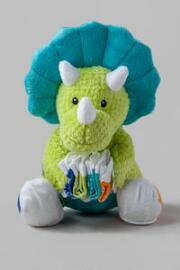 Tricerasocks Plush Dinosaur