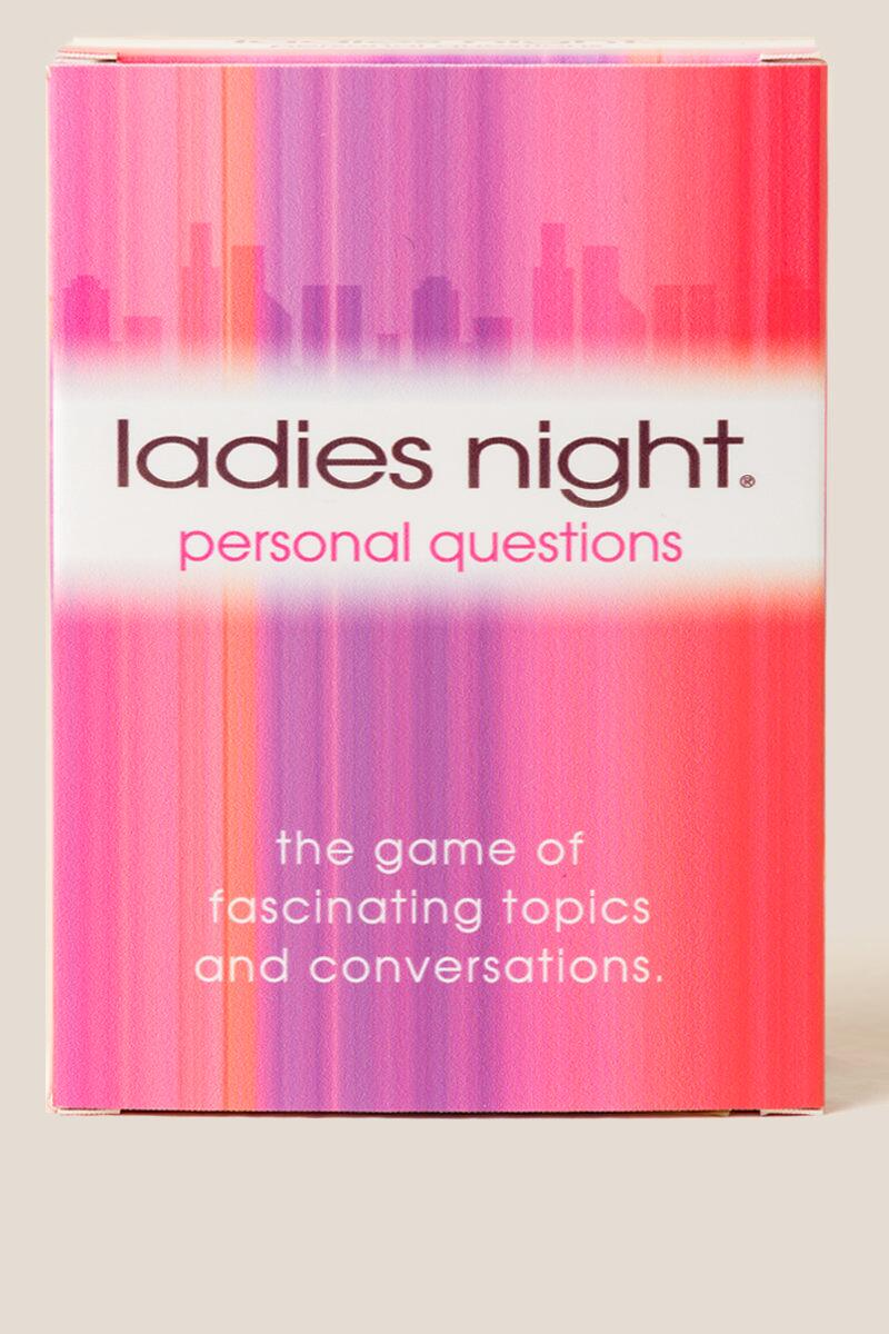 Ladies Night Personal Questions Card Game