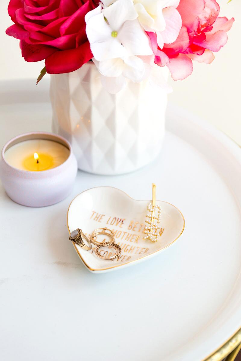 Love Mother Trinket Dish-  gold-cl2