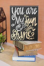 My Sunshine 8x10 Plaque