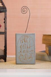 Happy Girls Wire Photo Holder