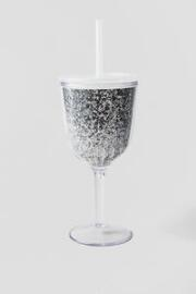 Travel Wine Cup in Silver