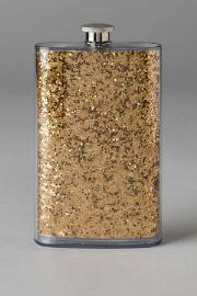 Glitter Flask in Gold