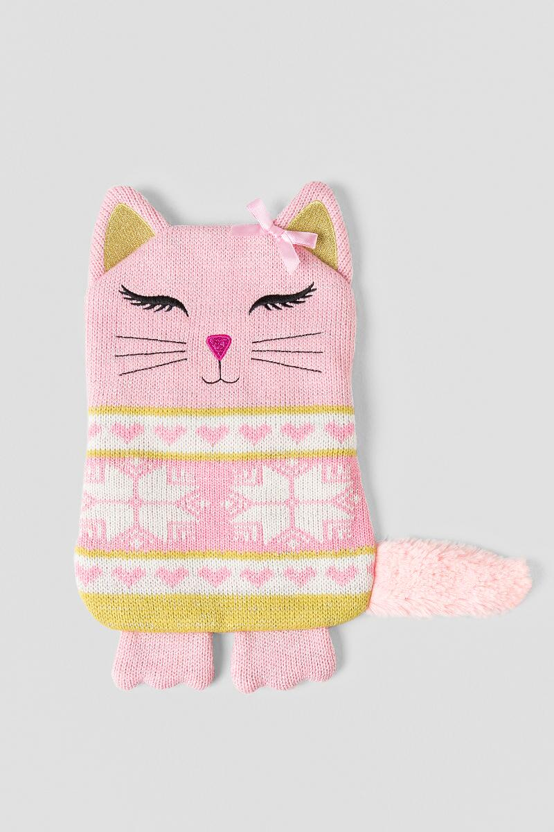 Pink Microwavable Kitty Aroma Pillow