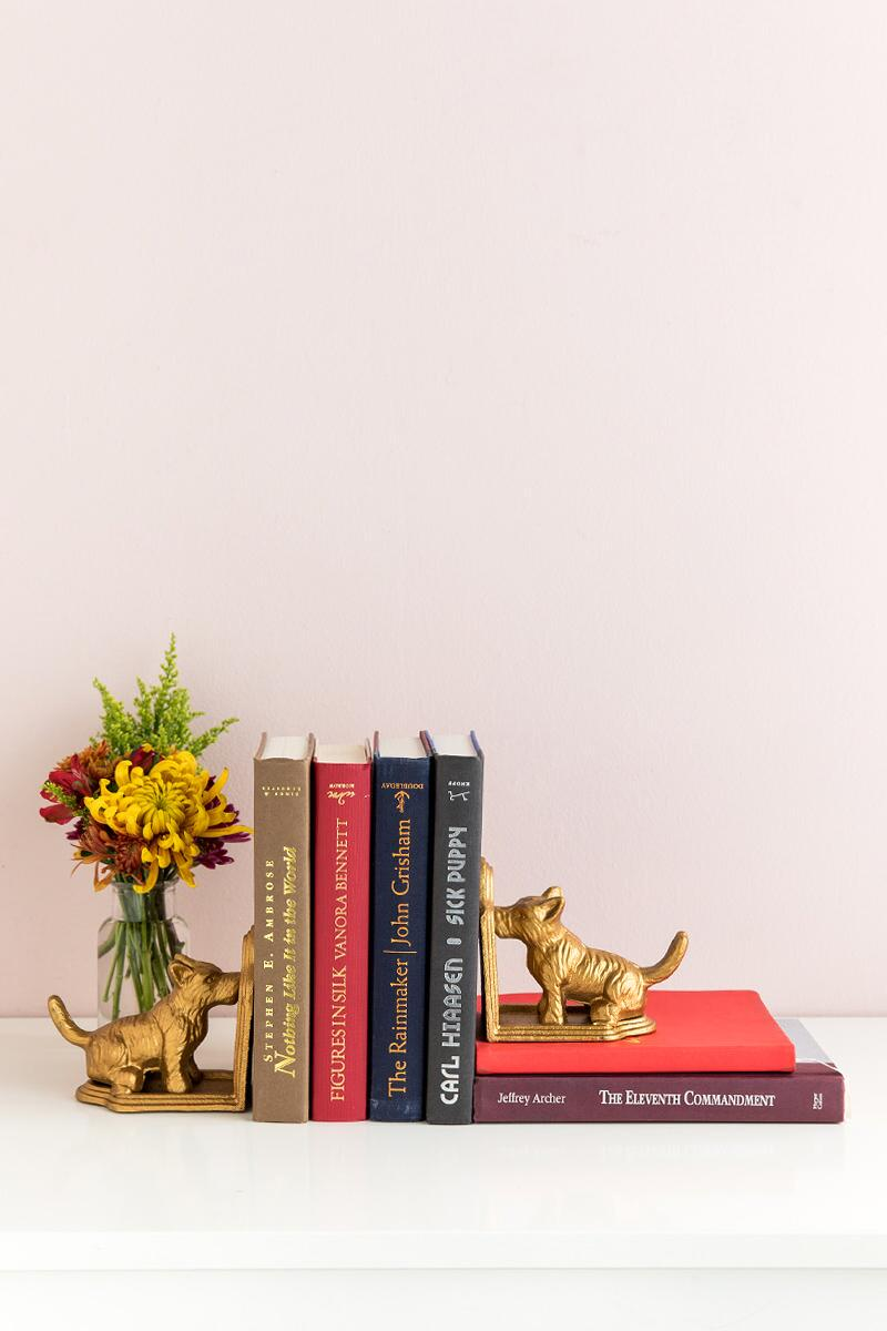 Scottie Dog Bookends-  gift-cllifestyle