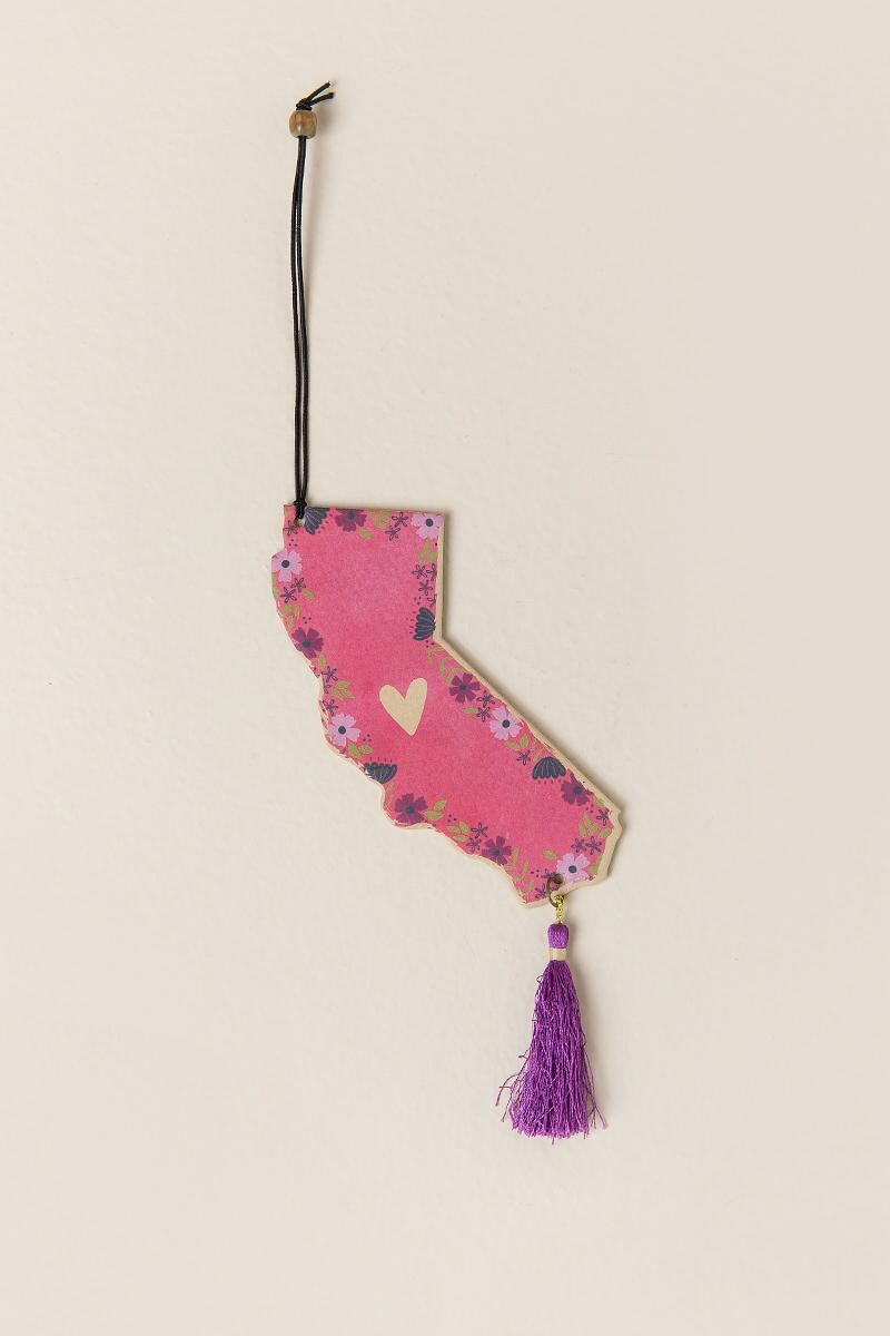 California State Tassel Air Fresheners