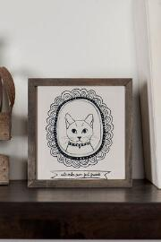 Framed Cat Mini Wall Art
