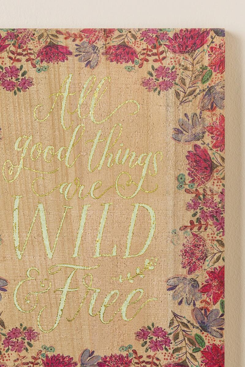 Wild And Free Wall Décor | francesca\'s