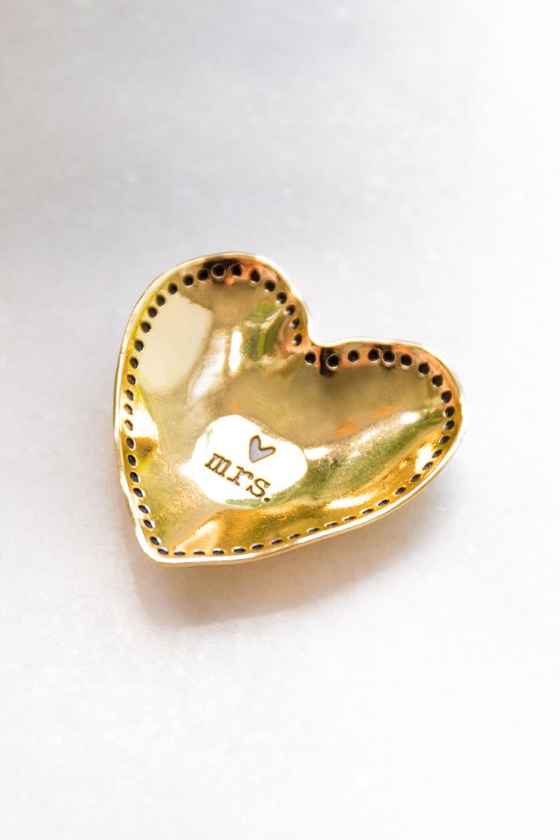 Mrs. Gold Little Love Bowl-  gift-clalternate