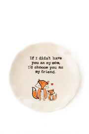 Mom Fox Trinket Dish
