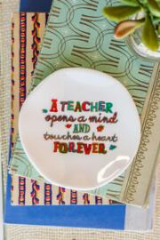 Teachers Ceramic Trinket Dish