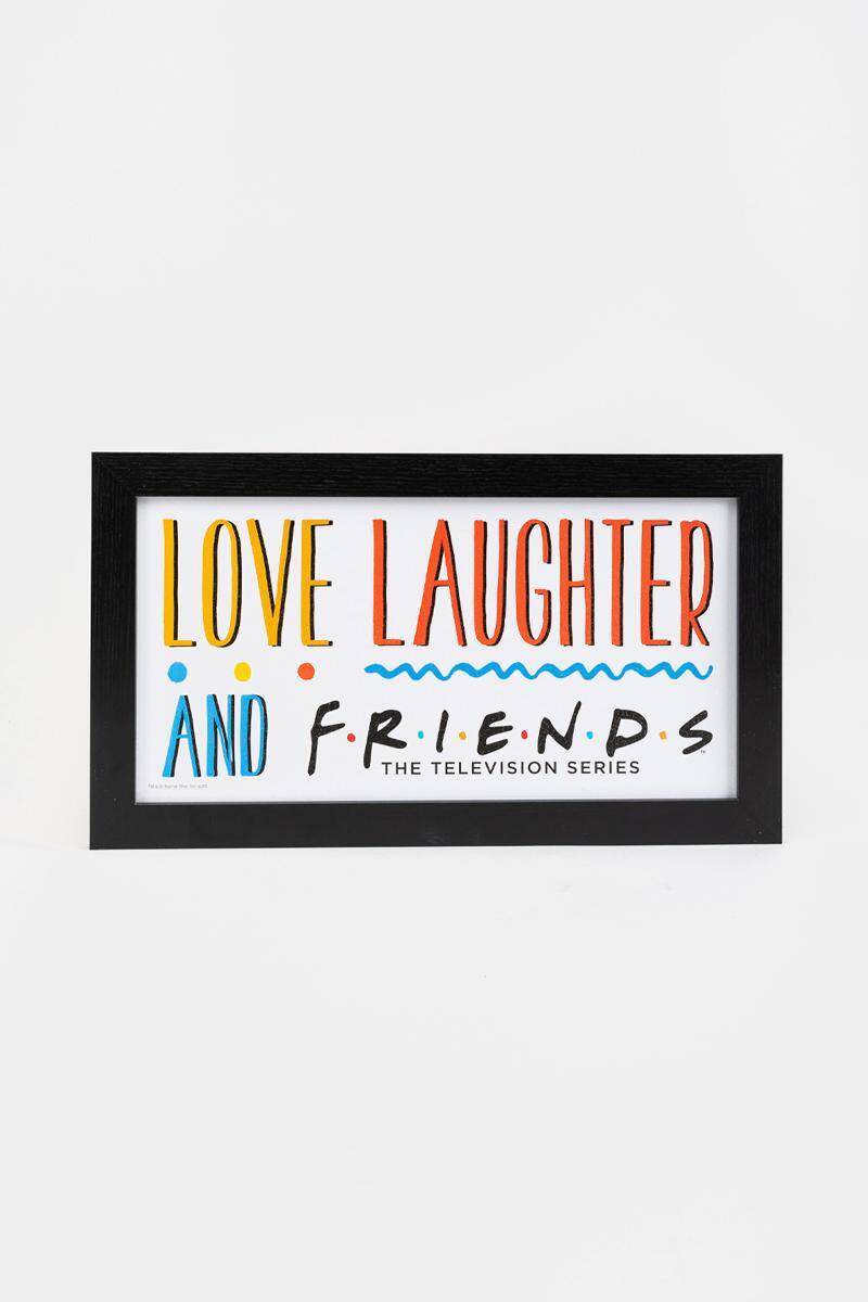 FRIENDS Love Laughter and Friends Box Sign-  nocolor-cl