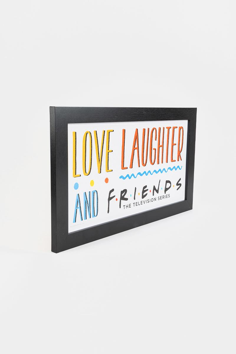 FRIENDS Love Laughter and Friends Box Sign-  nocolor-cl2
