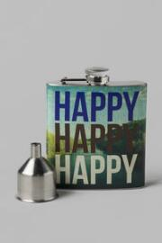 Happy, Happy, Happy Flask