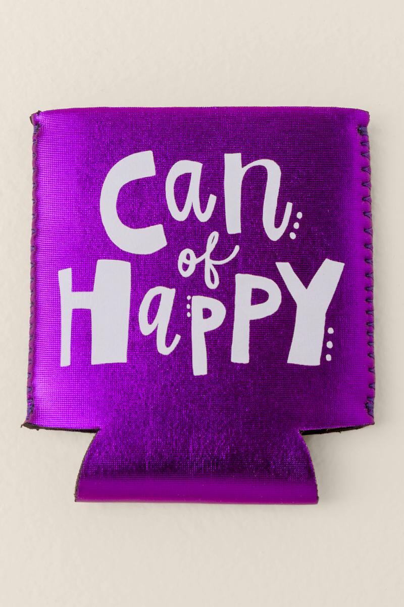 Can of Happy Coozie