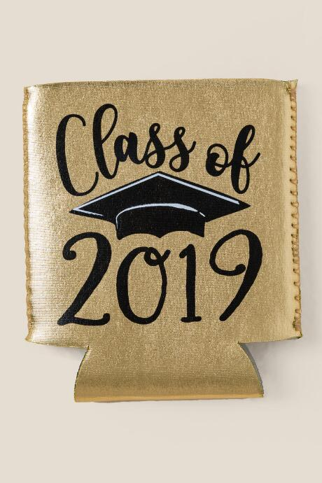 Class of 2019 Gold Coozie