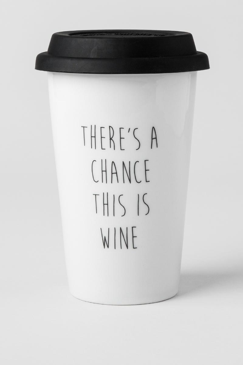 Chance This is Wine Travel Mug-  gift-cl