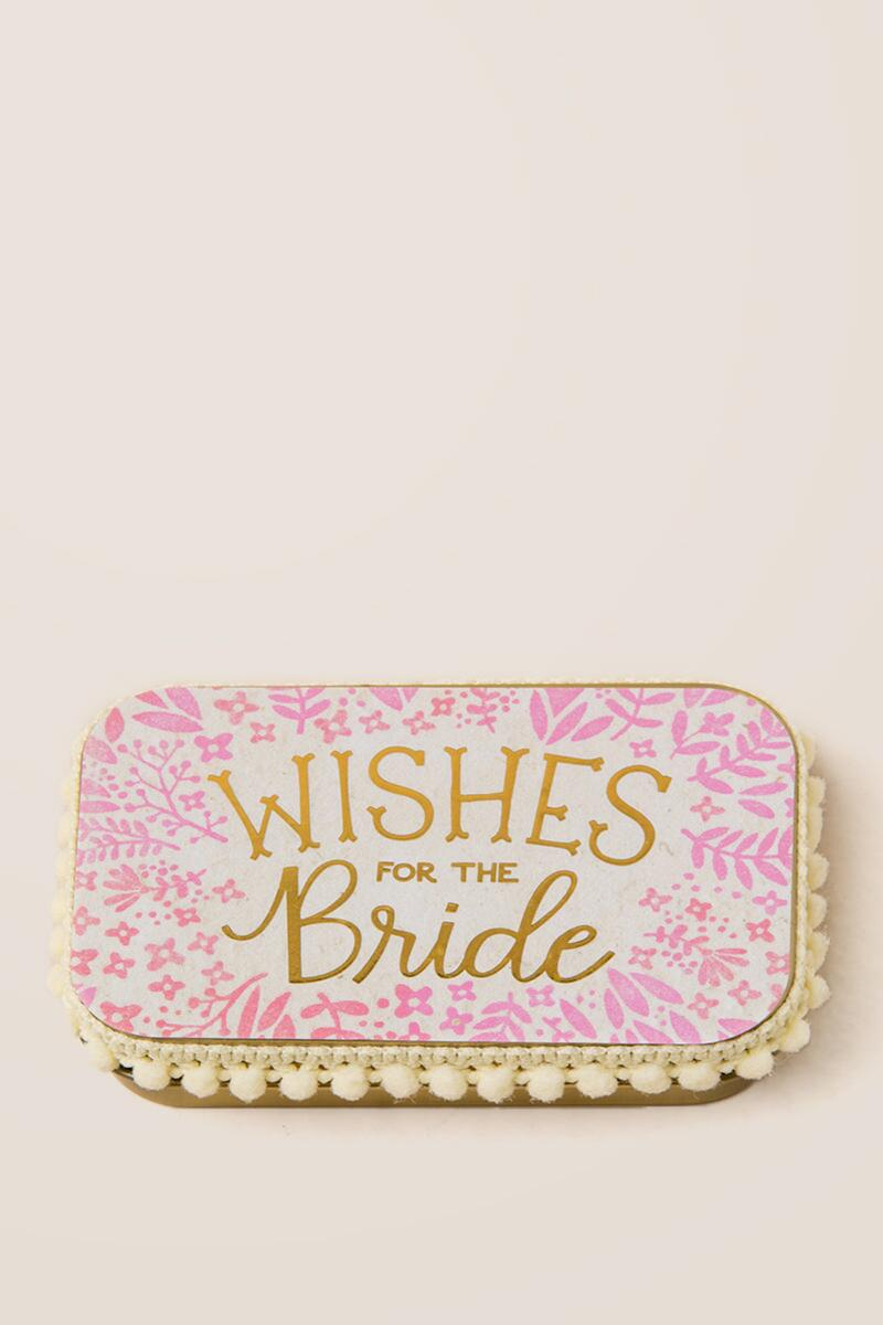 Prayer Box Wishes for the Bride-  gift-cl