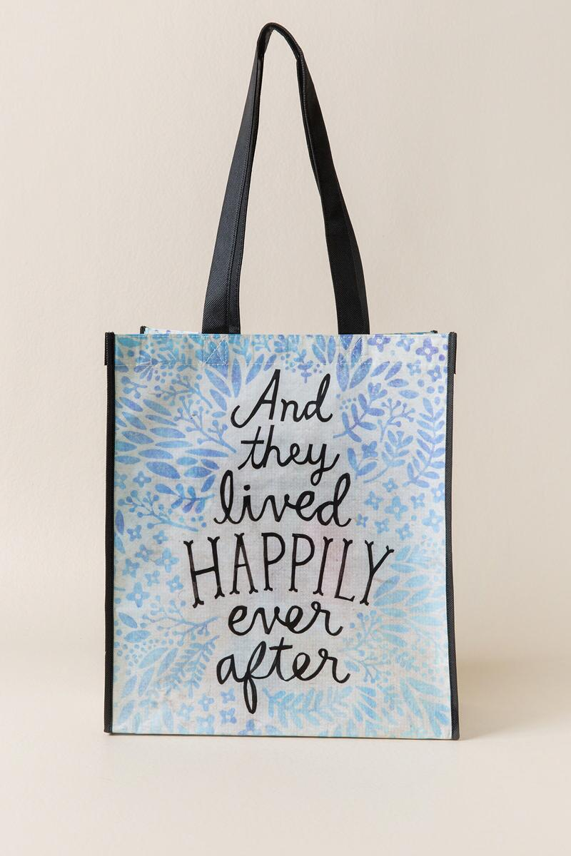 Happily Ever After Recycle Gift Bag
