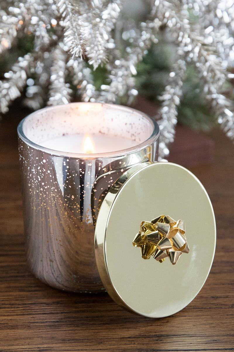 Gifted Silver Spruce Candle-  gift-cl