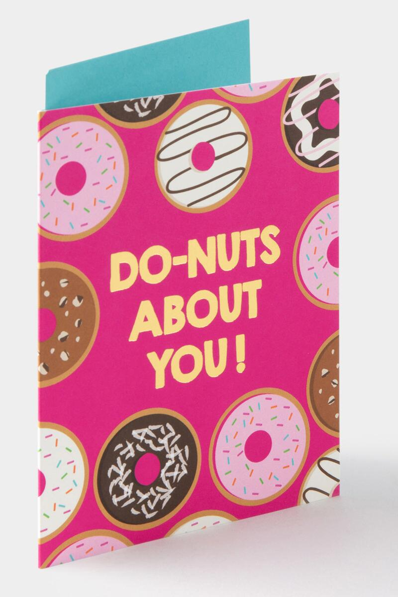 Do-nuts About You! Card-  nocolor-cl
