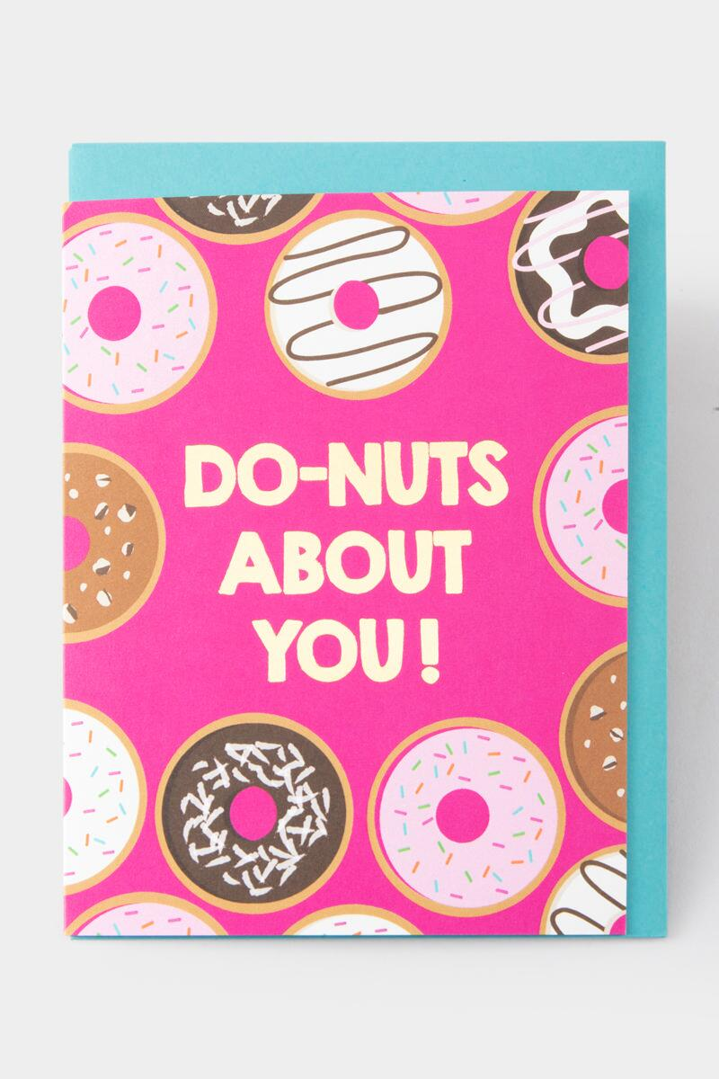 Do-nuts About You! Card-  nocolor-cl2