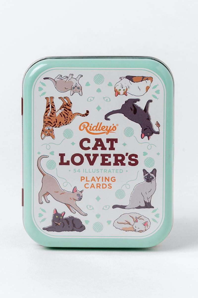 Cat Lover's Playing Cards-  gift-cl