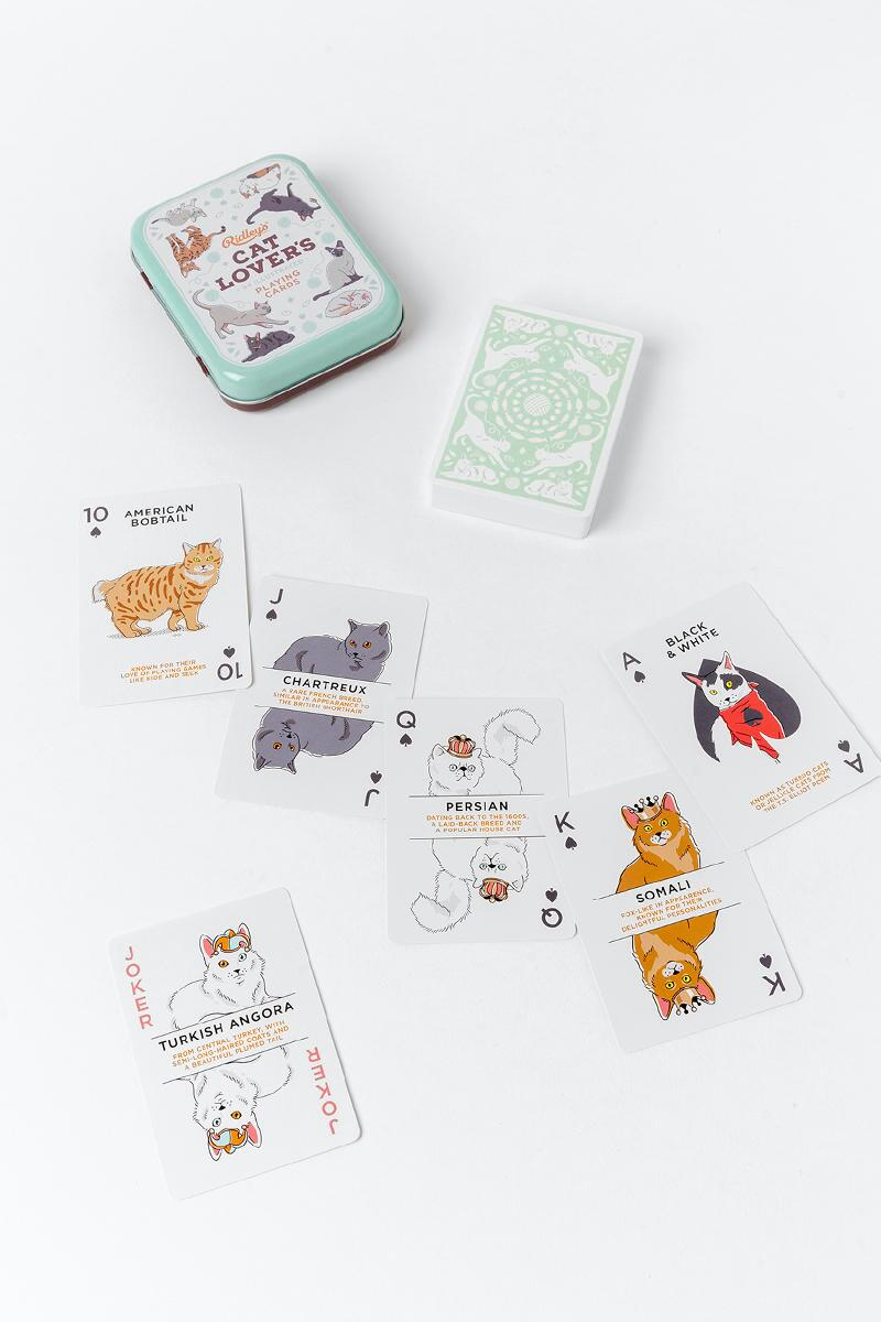 Cat Lover's Playing Cards-  gift-cl2